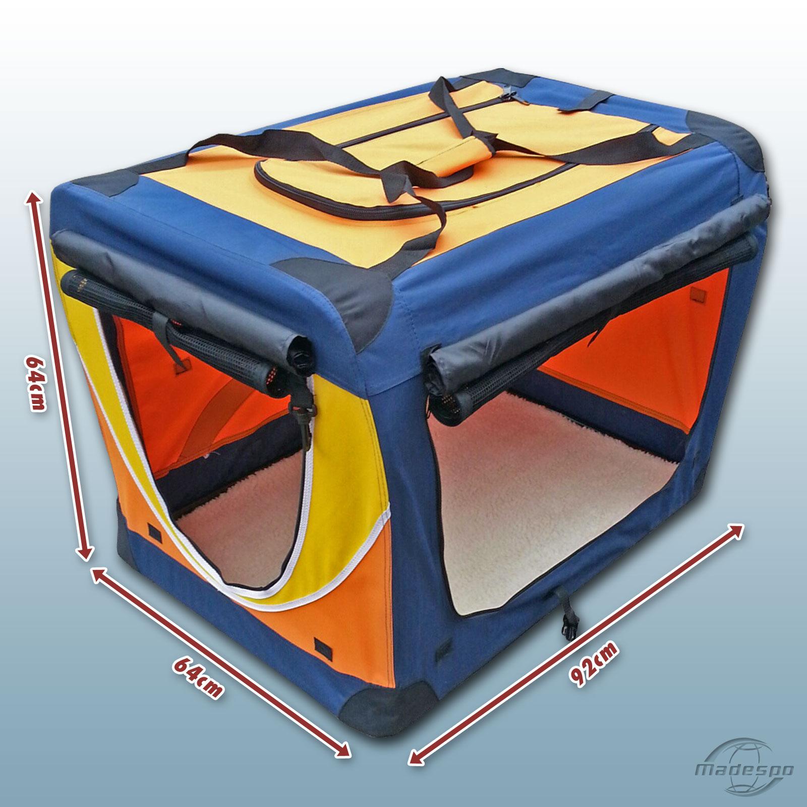 faltbare hunde transportbox hundebox hund box gr e xxl. Black Bedroom Furniture Sets. Home Design Ideas